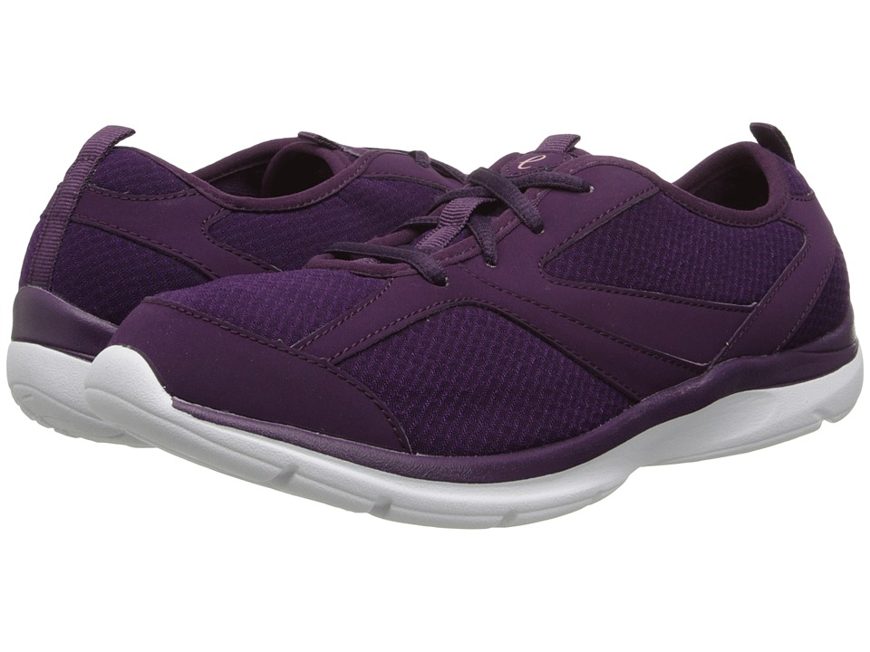 Easy Spirit - Quatro (Dark Purple/Dark Purple Fabric) Women's Shoes
