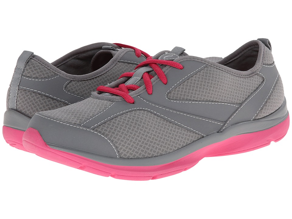 Easy Spirit - Quatro (Medium Grey/Medium Grey Fabric) Women's Shoes