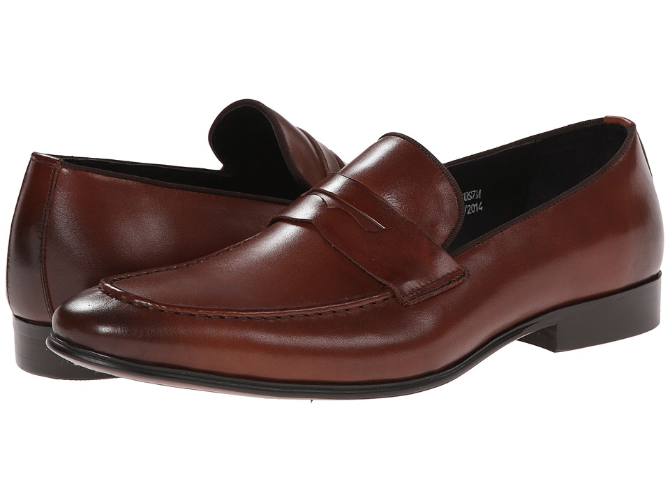Dune London - Racehorse (Tan Leather) Men's Slip on Shoes