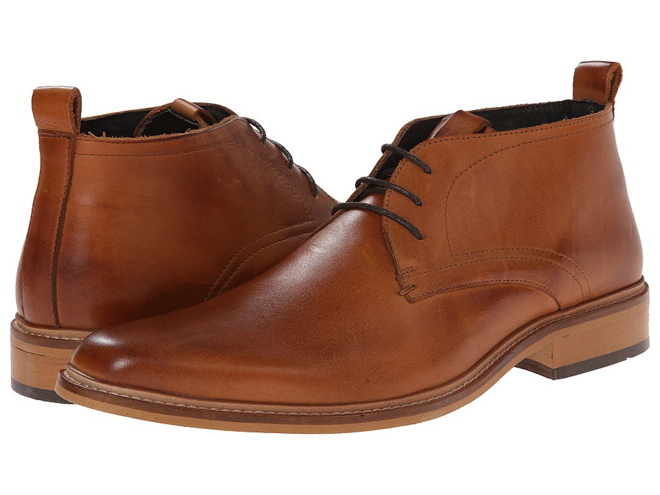 Dune London - Montenegro (Tan Leather) Men's Dress Lace-up Boots