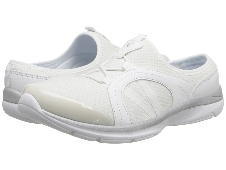 Easy Spirit - Quade (White Multi Fabric) Women's Shoes