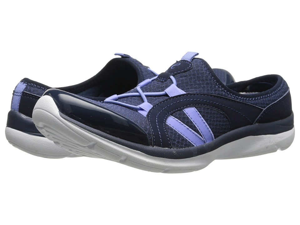 Easy Spirit - Quade (Navy Multi Fabric) Women's Shoes
