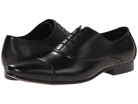 Dune London - Academy (Black Leather) Men