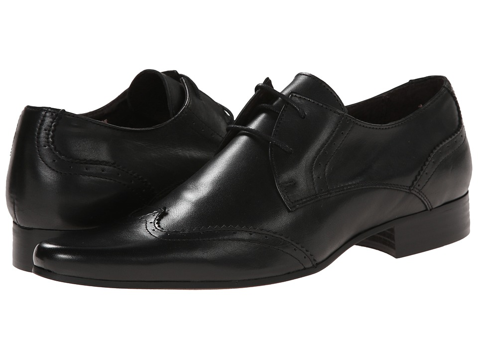 Dune London - Rascal (Black Leather) Men