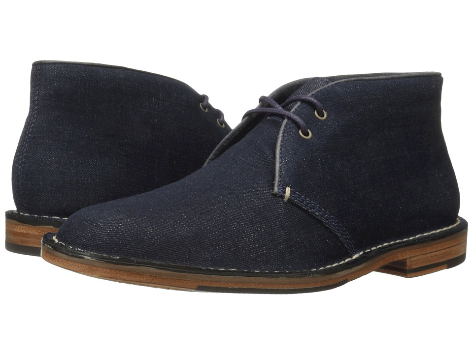 Cole Haan - Grover Chukka (Denim) Men's Lace up casual Shoes
