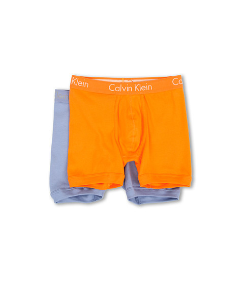 Calvin Klein Underwear - Body Boxer Brief 2-Pack U1805 (Monarch Orange/Skyspace) Men's Underwear