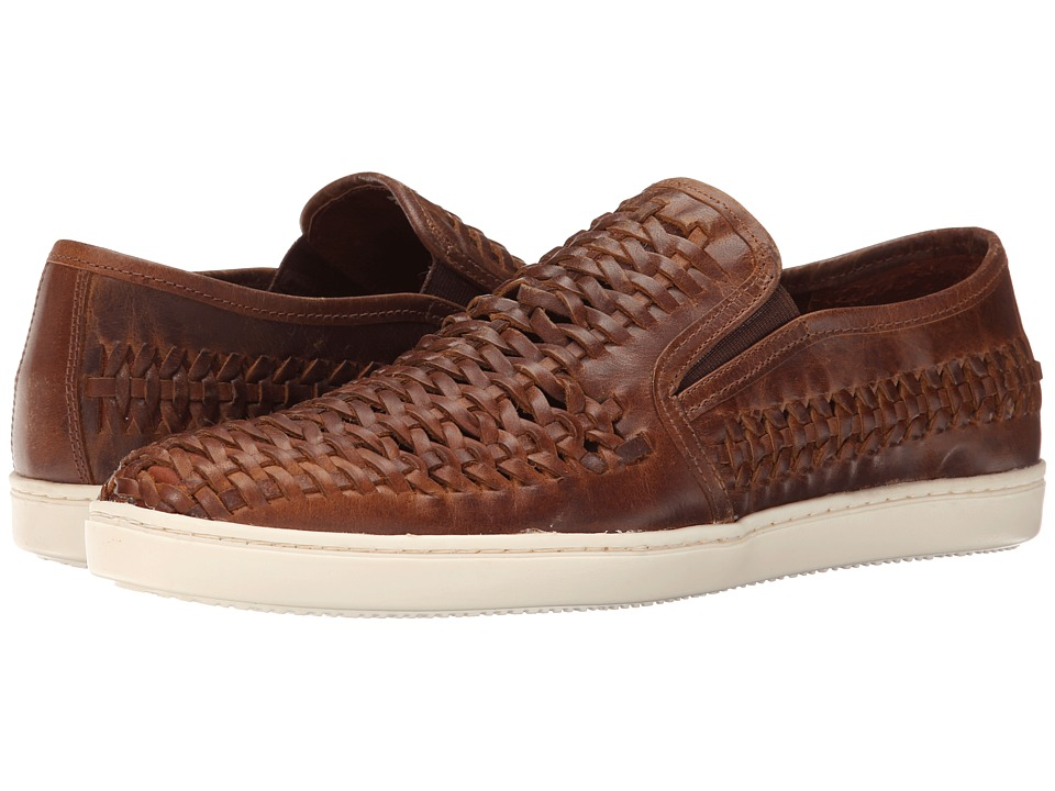 Dune London - Bradders (Brown Leather) Men's Slip on Shoes