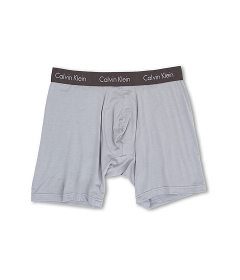 Calvin Klein Underwear - Body Micro Modal Boxer Brief U5555 (Garden Pebble/Ashford Grey Waistband) Men