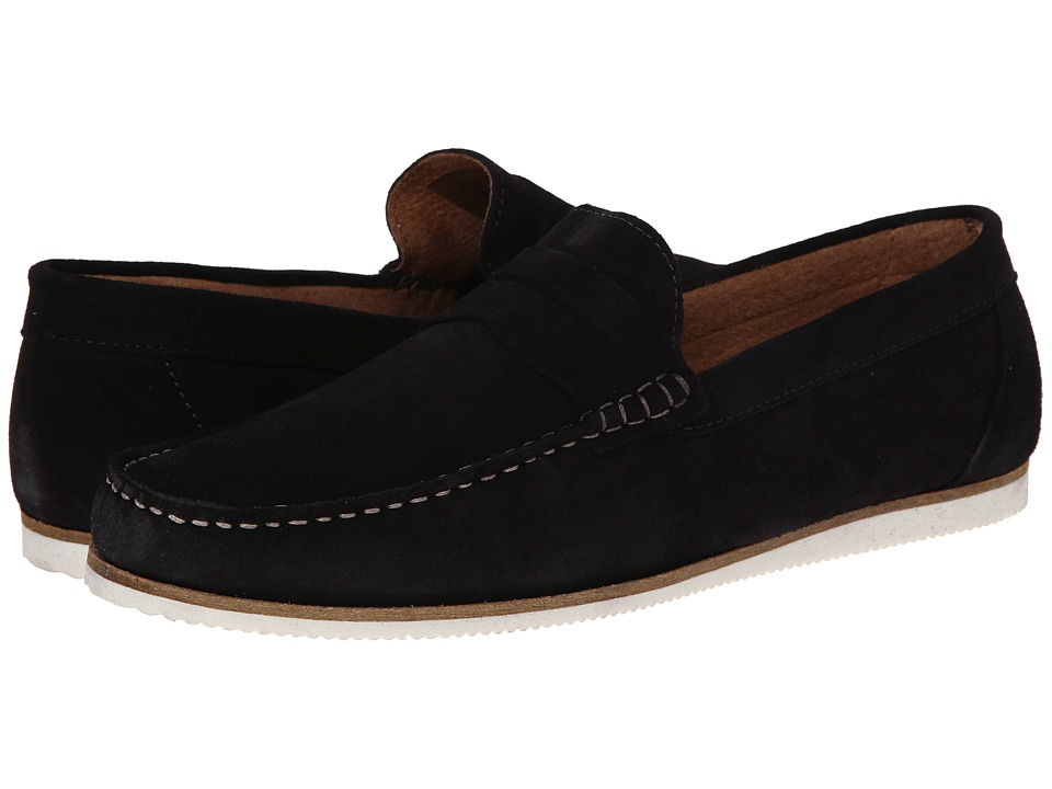 Dune London Brightly (Navy Suede) Men