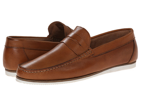 Dune London - Brightly (Tan Suede) Men's Slip on Shoes