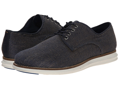 Dune London - Bishop (Navy Canvas) Men's Lace up casual Shoes