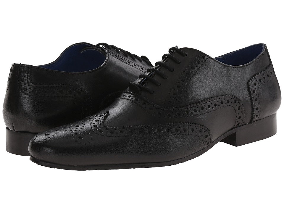 Dune London - Rodwell (Black Leather) Men