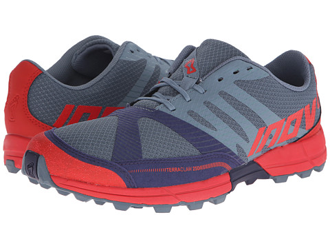 inov-8 - Terraclaw 250 (Mirage/Navy/Red) Men's Running Shoes