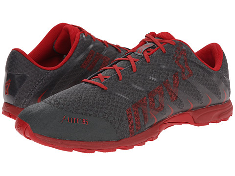 inov-8 - F-Lite 195 (Grey/Chili) Men's Running Shoes