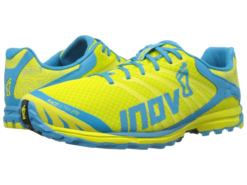 inov-8 - Race Ultra 270 (Lime/Blue) Men's Running Shoes