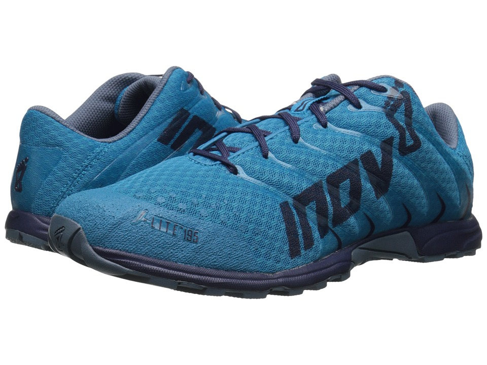 inov-8 - F-Lite 195 (Blue/Navy/Mirage) Men's Running Shoes