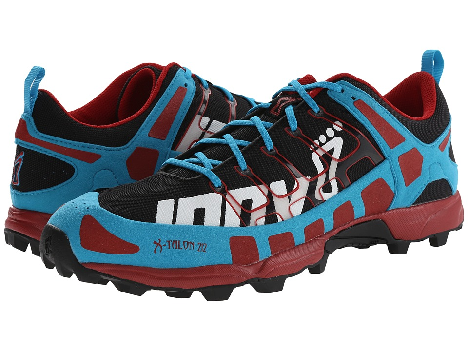 inov-8 - X-Talon 212 (Black/Blue/Chili) Men's Running Shoes