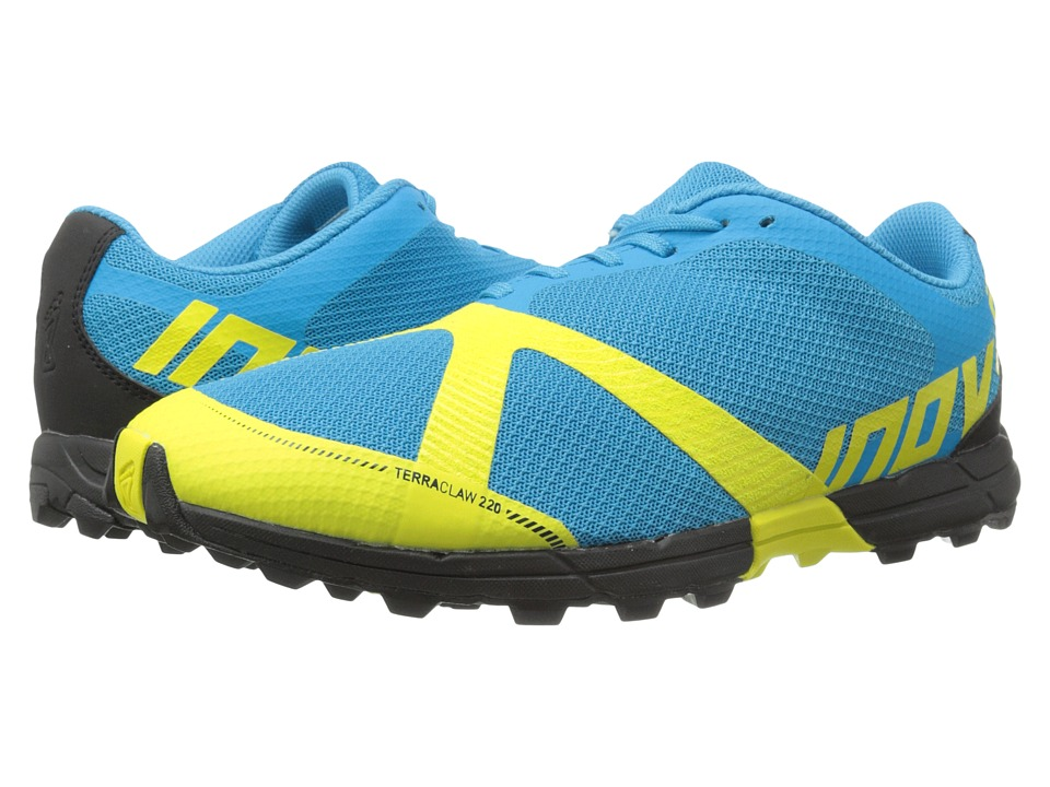 inov-8 - Terraclaw 220 (Blue/Lime/Black) Men's Running Shoes