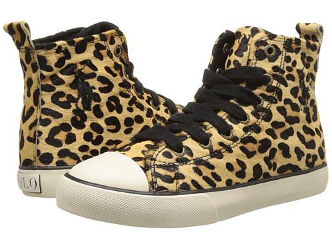 Polo Ralph Lauren Kids - Sag Harbour Hi (Little Kid) (Leopard Haircalf 1) Girl