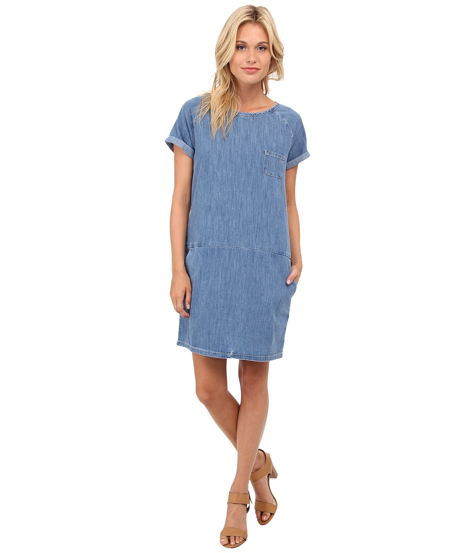 Mavi Jeans - Fiona Short Sleeve Denim Dress (Light) Women's Dress