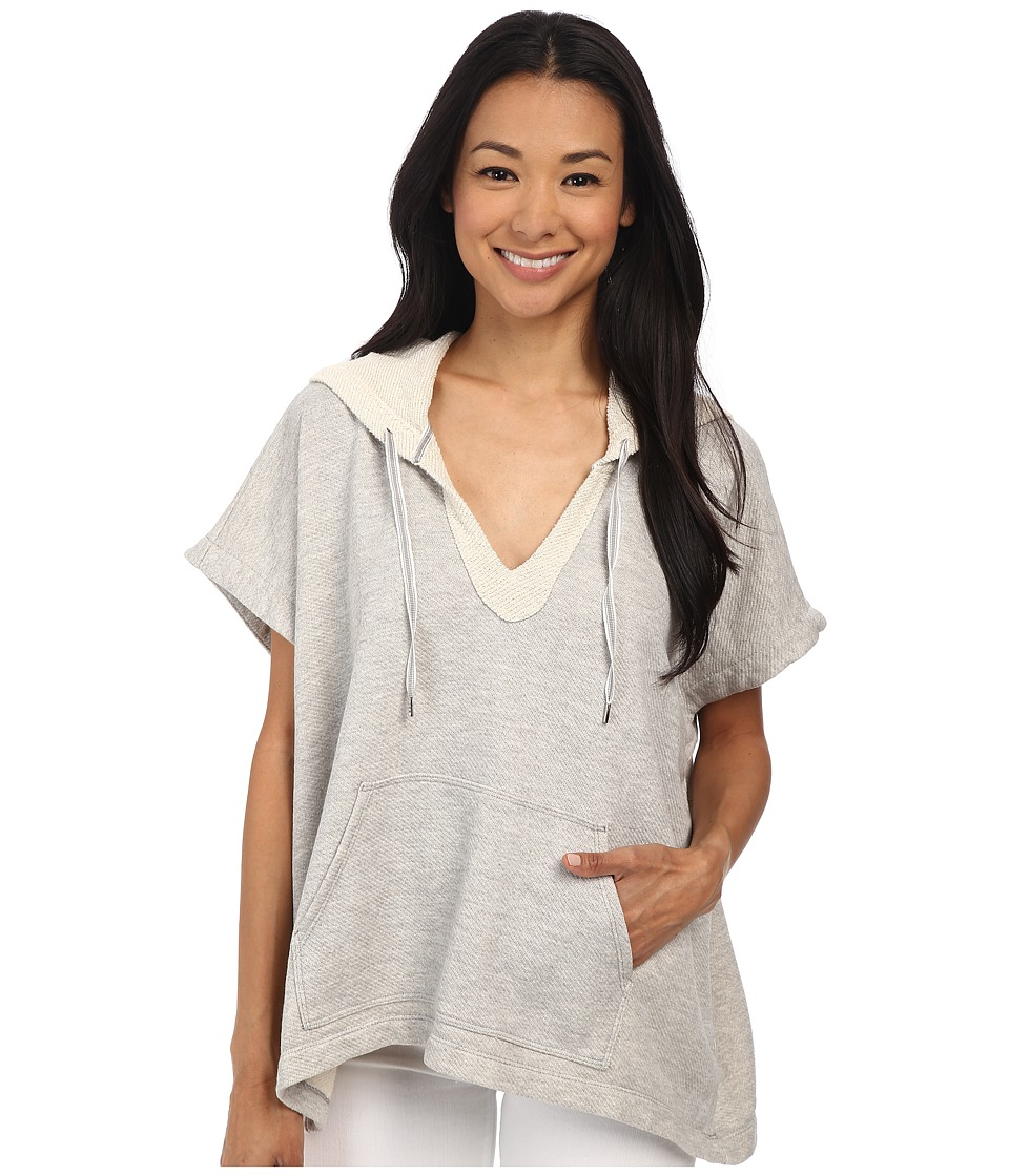Soft Joie - Leland (Heather Grey) Women's Short Sleeve Pullover