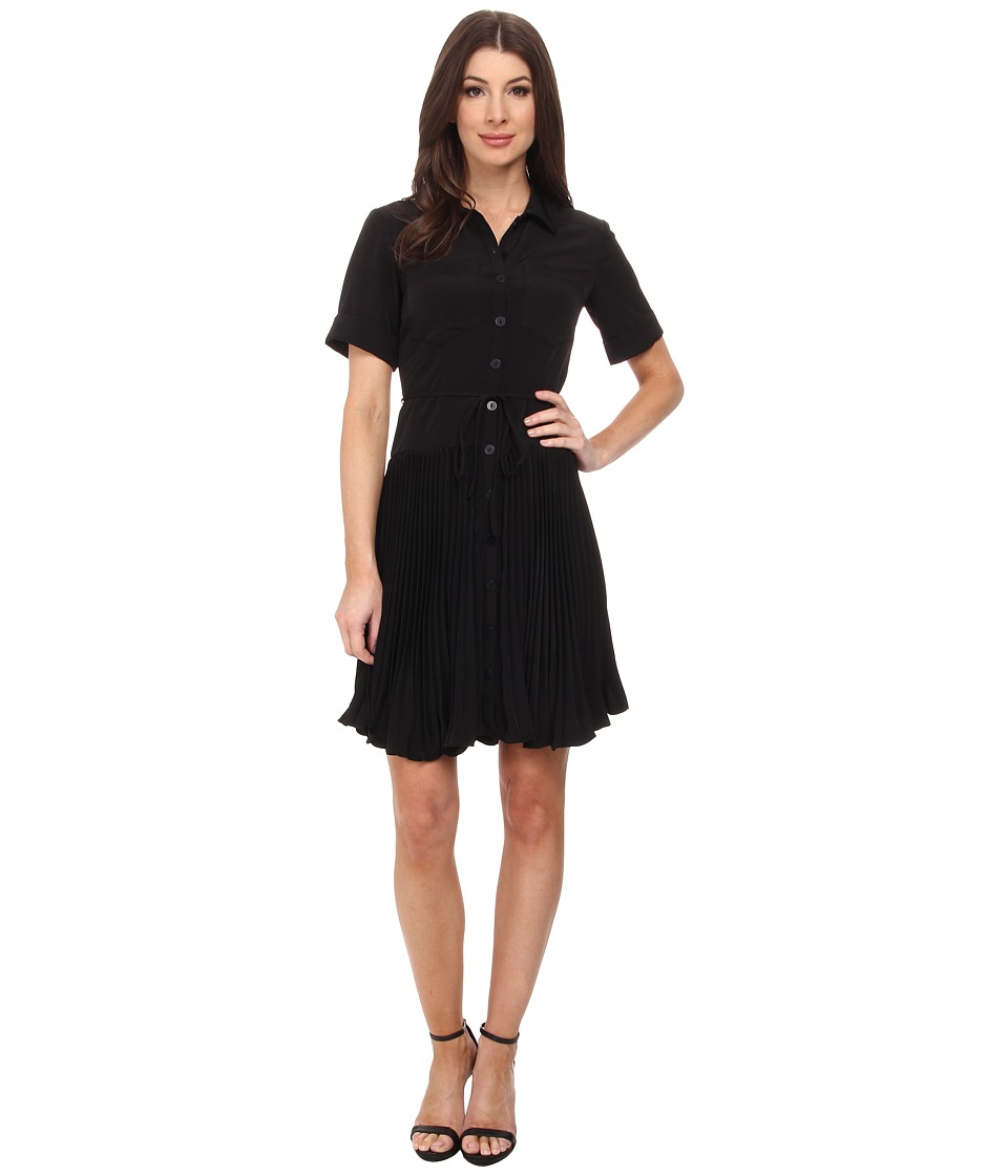 Nanette Lepore - Sunburst Dress (Black) Women's Dress
