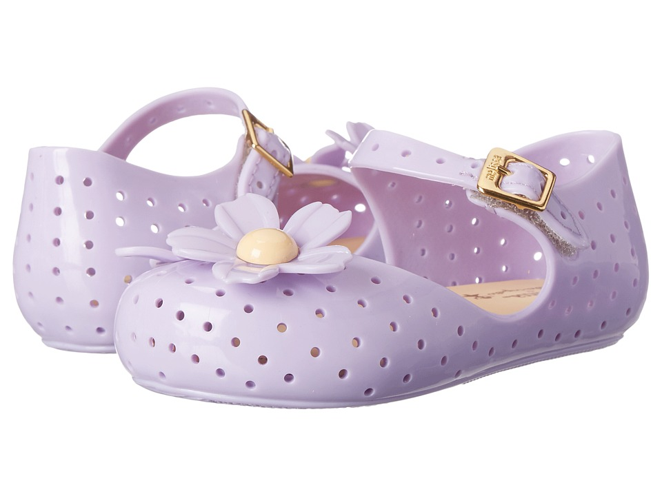 Mini Melissa - Furadinha + Isabela Capeto (Toddler) (Purple) Girls Shoes