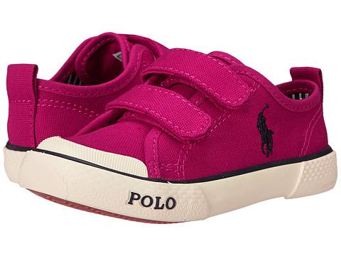 Polo Ralph Lauren Kids - Carlisle II EZ (Toddler) (College Pink Canvas) Girl