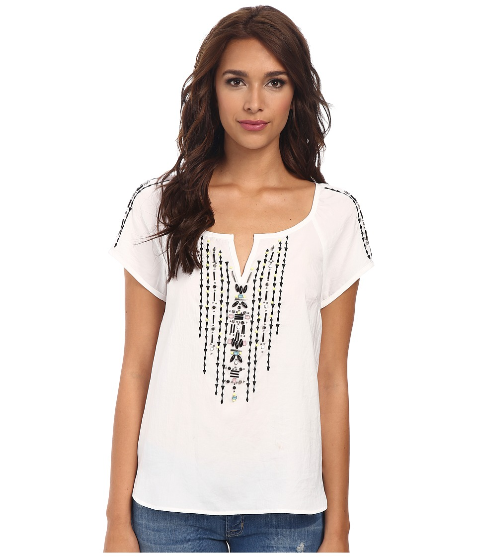 Nanette Lepore - Sundown Top (White/Black) Women's Blouse