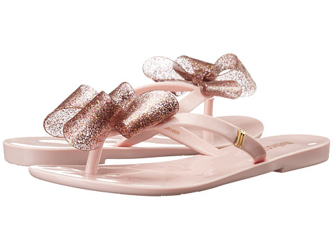 Mini Melissa - Harmonic Bow (Little Kid) (Light Pink) Girls Shoes