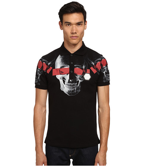 Philipp Plein - See You Polo (Black) Men