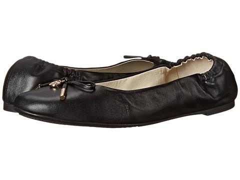 MICHAEL Michael Kors - Melody Ballet (Black Nappa) Women's Flat Shoes