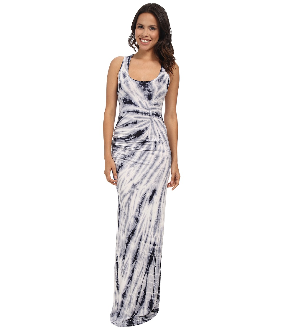 Young Fabulous & Broke - Fleur Maxi (Grey Dreamer Wash) Women's Dress