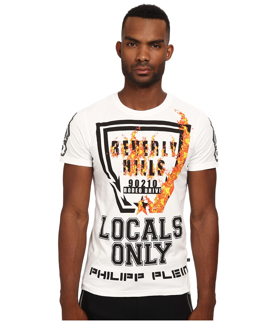 Philipp Plein - Locals Only Tee Shirt (White) Men's T Shirt