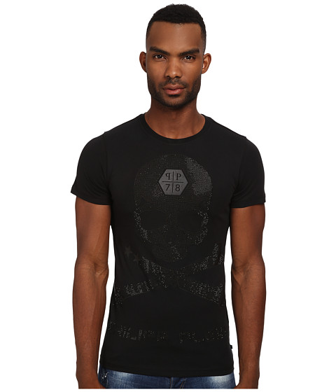 Philipp Plein - Truth Lies Inside Tee Shirt (Black) Men's T Shirt