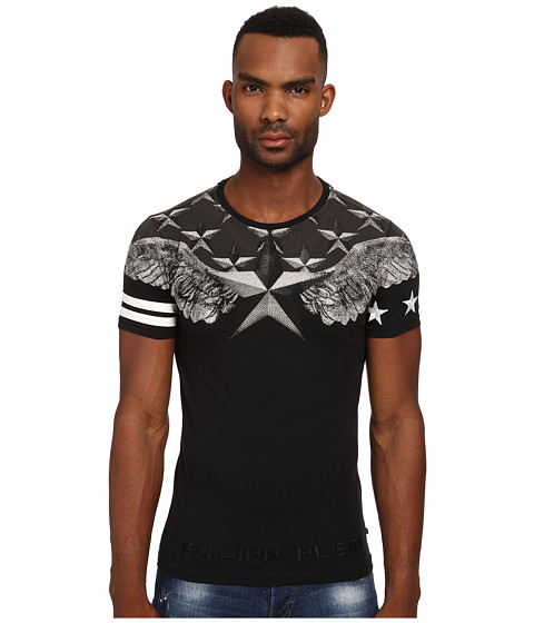 Philipp Plein - Universe Tee Shirt (Black) Men's T Shirt