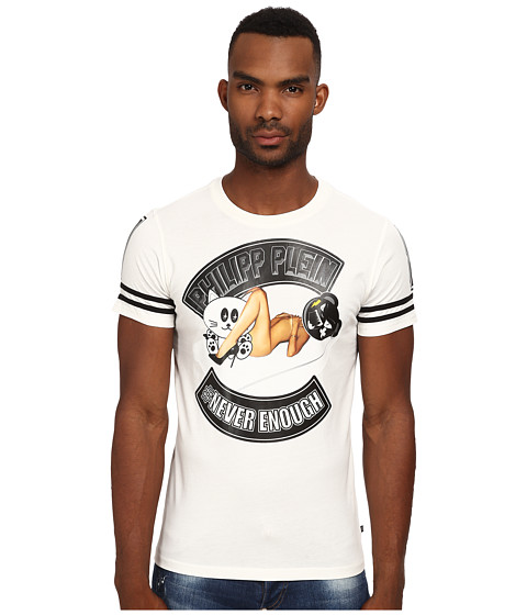 Philipp Plein - Never Enough Tee Shirt (White) Men's T Shirt