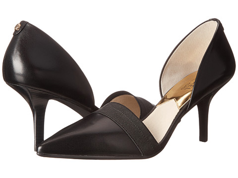 MICHAEL Michael Kors - Wendy Pump (Black Vachetta) High Heels