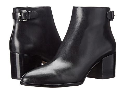MICHAEL Michael Kors - Saylor Ankle Boot (Black Smooth Calf) Women