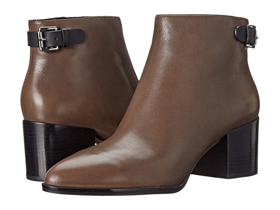 MICHAEL Michael Kors - Saylor Ankle Boot (Elephant/Black Vachetta) Women