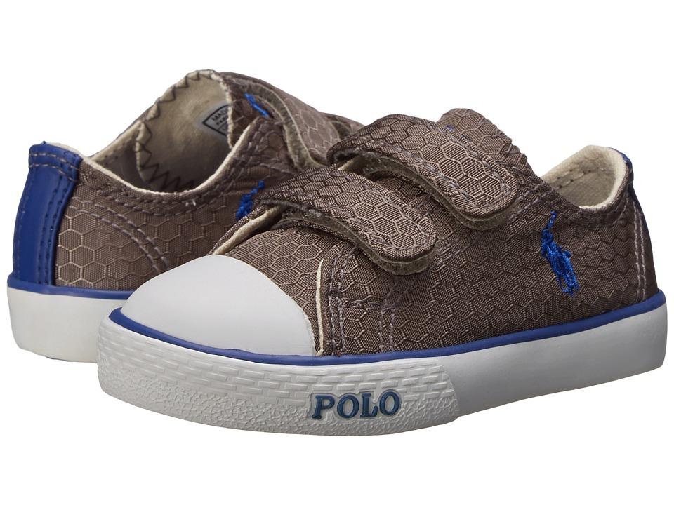 Polo Ralph Lauren Kids - Carson II EZ (Toddler) (Grey Honeycomb Ripstop/Royal) Boy