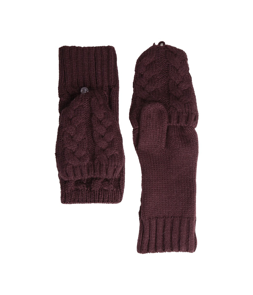 Under Armour - UA Around Town Glove (Ox Blood/Ox Blood) Extreme Cold Weather Gloves