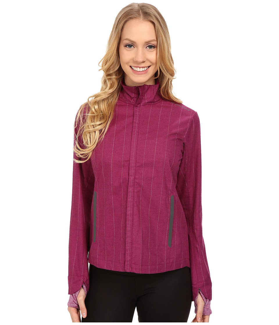 Brooks - Bolt Jacket (Heather Currant) Women's Coat
