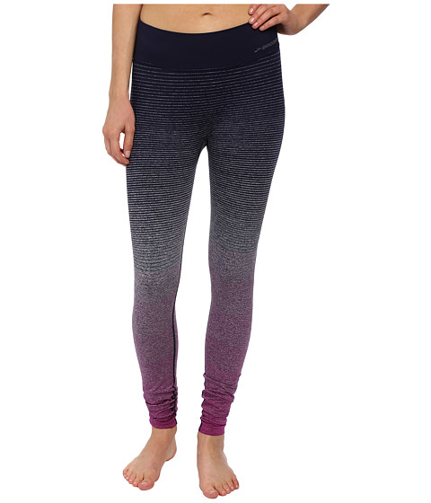 Brooks - Streaker Tights (Currant/Navy) Women's Casual Pants