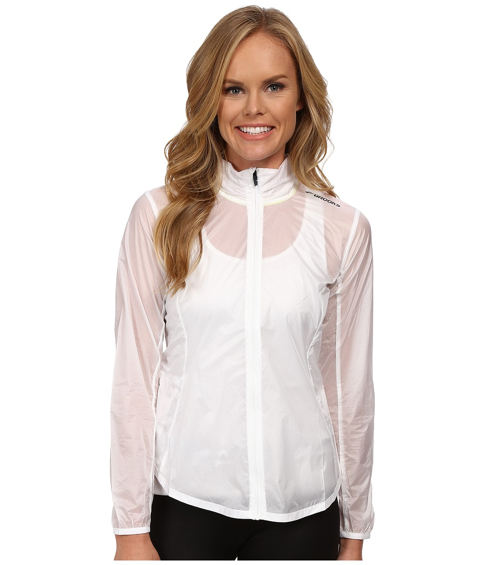 Brooks - LSD Jacket (White) Women's Coat