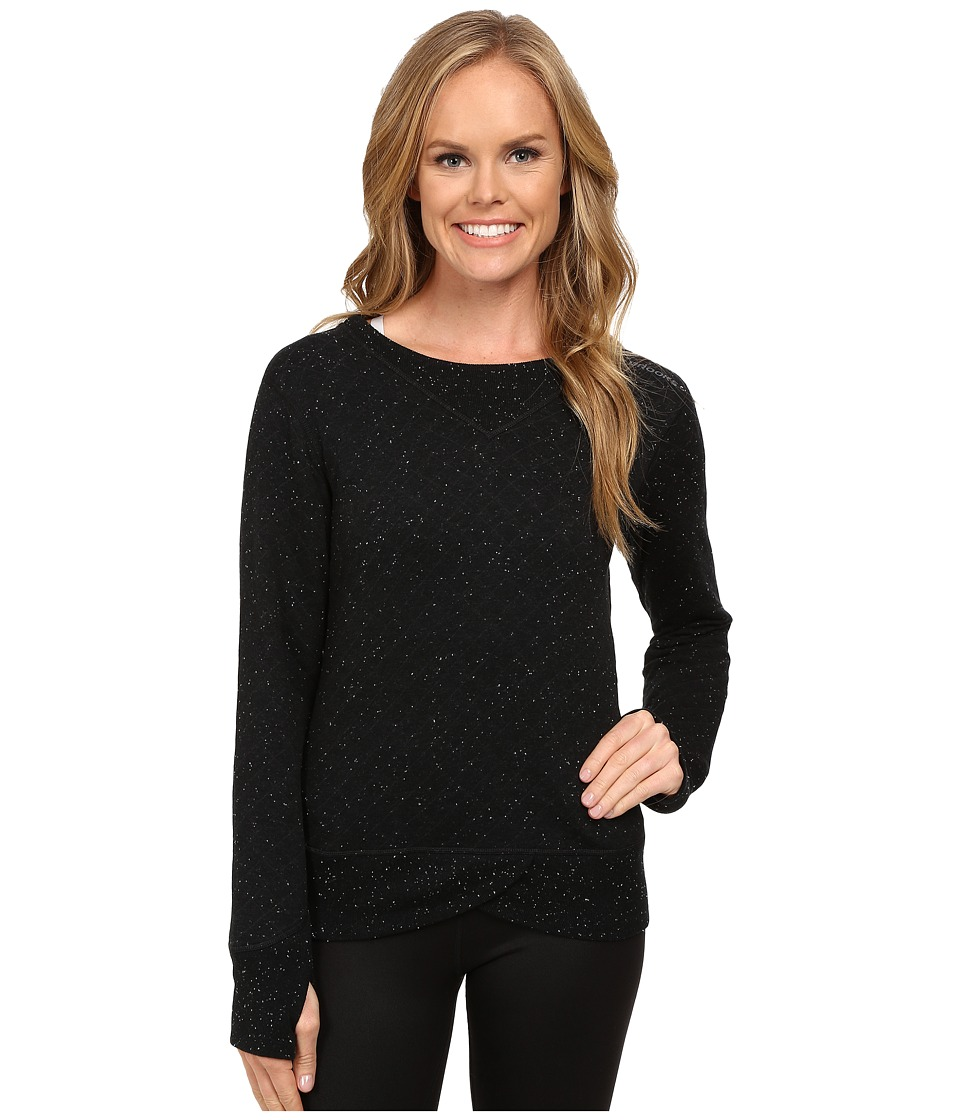 Brooks - Fly-By Sweatshirt (Black/Asphalt) Women