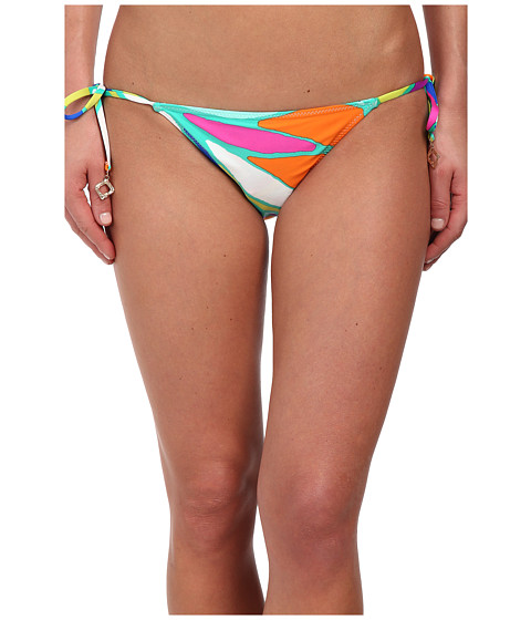 Trina Turk - Tropicalia Reversible Tie Side Hipster (Multi) Women
