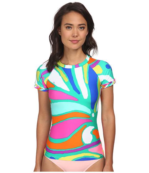 Trina Turk - Tropicalia Rashguard (Multi) Women's Swimwear