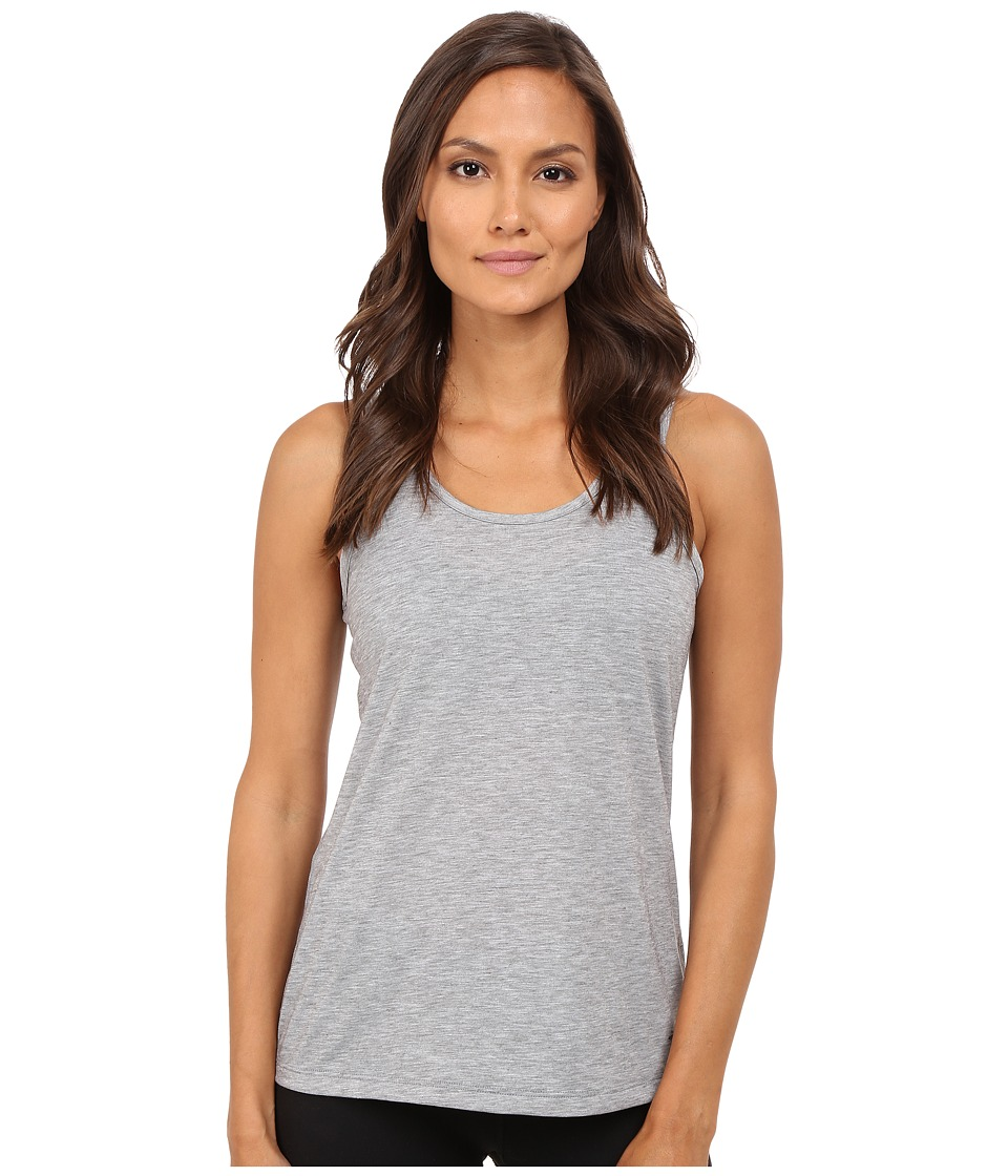 Brooks - Distance Tank Top (Heather Oxford) Women's Sleeveless