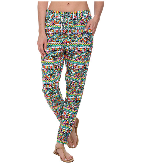 Trina Turk - Bora Bora Stripe Peg Leg Pants Cover-Up (Multi) Women